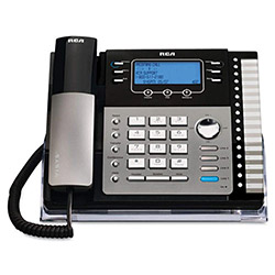 RCA ViSYS 25423RE1 Four-Line Phone