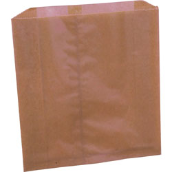 Rochester Midland Brown Trash Bags, Box of 250