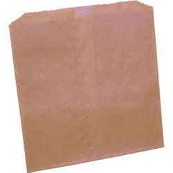 Rochester Midland Brown Trash Bags, Box of 500