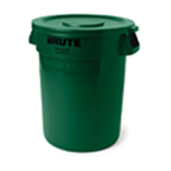 Rubbermaid Dark Green Lid for 2632 BRUTE® Containers