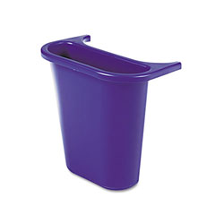 Rubbermaid Blue Recycling Bin, 1 Gallon
