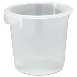 Rubbermaid Clear Round Storage Container