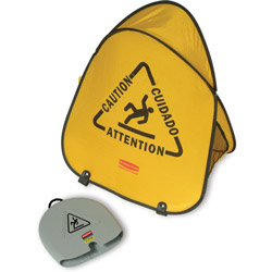 Rubbermaid Folding Safety Cone,Yellow