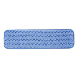 "Rubbermaid Microfiber Wet Room Pad, Split Nylon/Polyester Blend, 18"", BE"