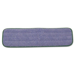 Rubbermaid Green Microfiber Wet Flo Cleaning Pad, 18""