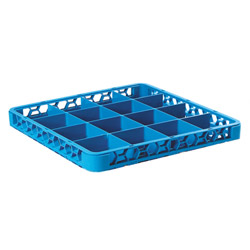 Carlisle Foodservice Products Blue OptiClean 16 Compartment Divided Extender