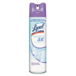 Lysol Neutra Air Sanitizing Spray Morning Linen™ Scent RTU Aerosol Cans 12/10-oz.