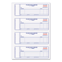 Rediform Purchase Order Book, 7 x 2 3/4, Two-Part Carbonless, 400 Sets/Book