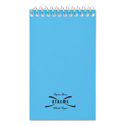 National Brand Wirebound Memo Book, Narrow Rule, 3 x 5, White, 60 Sheets