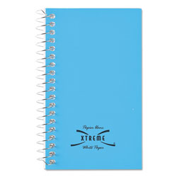 National Brand Wirebound Memo Book, Narrow Rule, 5 x 3, White, 60 Sheets