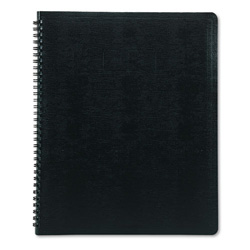 Rediform Wirebound Notebook, White Pages, Ruled, Inside Pocket, 11 x 8 1/2, 80 Pages