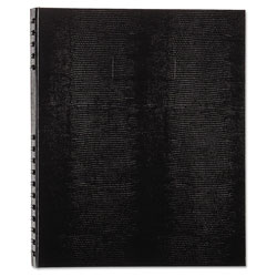 Blueline NotePro Undated Daily Planner, 11 x 8-1/2, Black