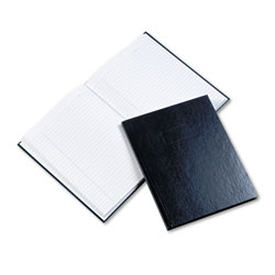 Blueline Business Notebook w/Blue Cover, College Rule, 9 1/4 x 7 1/4, 192 Sheet Pad