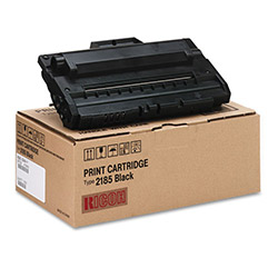 Ricoh Laser Toner Cartridge, Type 2185, for AC205, 5,000 pgs, Black
