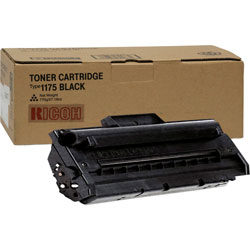 Ricoh Toner Cartridge, AC104, Type 1175, 3500 pgs, Black