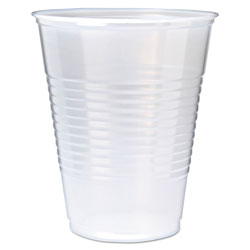 Fabri-Kal 12 Oz Cold Plastic Cups, Clear, Pack of 1000
