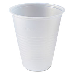 Fabri-Kal 7 Oz Cold Plastic Cups, Clear, Pack of 2500