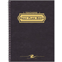 "Roaring Spring Paper Teacher Planners, 11 1/32""x8 1/2"", Tri Pocket Cover"