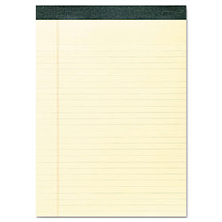 Roaring Spring Paper Recycled Legal Pad, 8 1/2 x 11 3/4 Pad, 8 1/2 x 11 Sheets, 40 Sheets/Pad, Canary