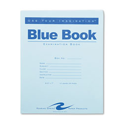 Roaring Spring Paper Examination Blue Book