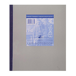 "Roaring Spring Paper Lab Notebook, Carbonless, 4""x4"", 100 Sheets, Tape Bound"