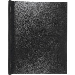 Roaring Spring Paper Report Cover with Thesis Binder, Black, Each