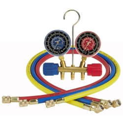 "Robinair Manifold Gauge Set with Three 36"" Hoses"