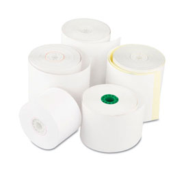 "Royal   Heat Sensitive Register Rolls, 2 1/4"" x 200 ft, 1 Ply, White, 40 Rolls/Carton"