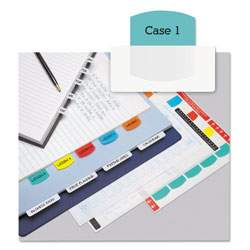 Redi-Tag/B. Thomas Enterprises Printable Index Tabs, Assorted Colors