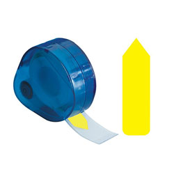 Redi-Tag/B. Thomas Enterprises Plain Arrow Tag, Write On, 9/16''x2'', Yellow