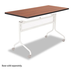 Safco Impromptu Mobile Training Table Top, Rectangular, 60w x 24d, Cherry