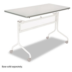 Safco Impromptu Mobile Training Table Top, Rectangular, 60w x 24d, Gray