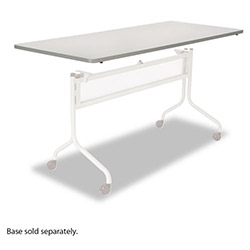 Safco Impromptu Mobile Training Table Top, Rectangular, 72w x 24d, Gray