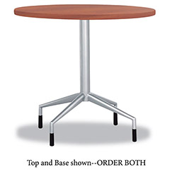 "Safco RSVP Series Round Table Top, Laminate, 30"" Diameter, Cherry"