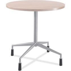 "Safco RSVP Series Standard Fixed Height Table Base, 28"" dia. x 28h, Black"