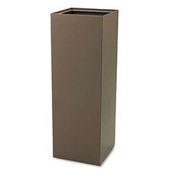 Safco Brown Recycling Container, 42 Gallon