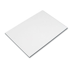 Safco Board for Vista & Horizon Drawing Table Bases, 42w x 30d, White Melamine Top