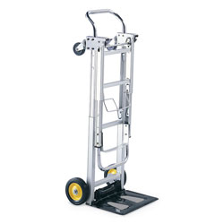 Safco Hide Away Folding Collapsible Convertible Hand & Platform Truck