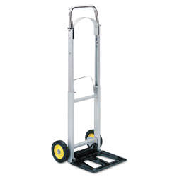 Safco Hide Away Aluminum Hand Truck, 250 lb. Capacity