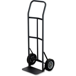 "Safco Black Hand Truck with 400 lb. Capacity, 19 1/2"" x 14 1/2"" x 45 1/2"""