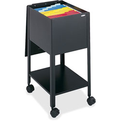 Safco Economy File Cart, Black