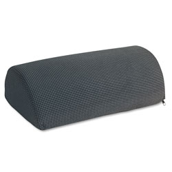 Safco Half Cylinder Padded Foot Cushion, Black