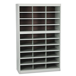 Safco Project Center, 30 Compartments, Gray, 60h