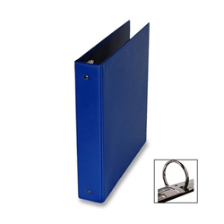 "Samsill Ring Binder, 1 1/2"" Capacity, Blue"