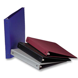 "Samsill Value Ring Binder, 2"" Capacity, Assorted Colors"