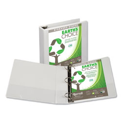 "Samsill EcoChoice 2"" View Binder, White"