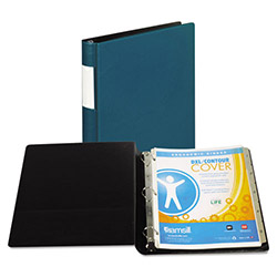 "Samsill 59% Recycled Top Performance DXL™ D-Ring Binder, 1"" Capacity, Teal"
