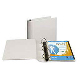 "Samsill 39% Recycled Top Performance DXL™ D-Ring Binder, 3"" Capacity, White"
