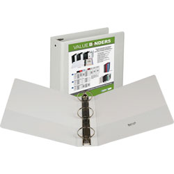 "Samsill Vue 3"" View Binder, White"