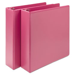 "Samsill Presentation 2"" View Binder, Pink"